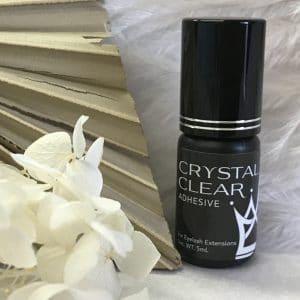 crystal clear eyelash extension glue