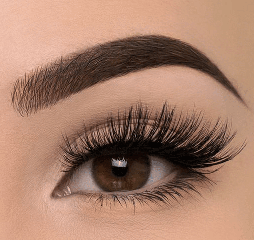 beautiful eye and stylish defined brow aspirational lash and brow courses