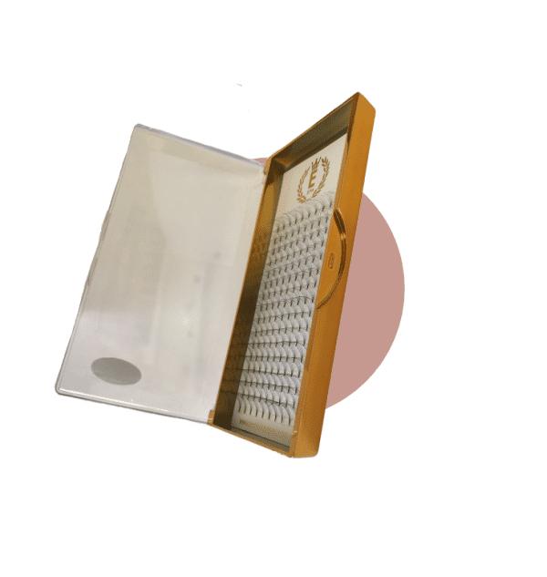premade lash tray