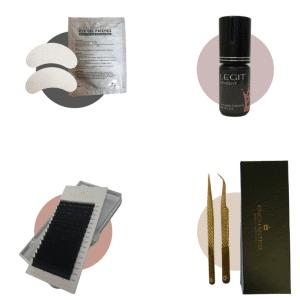 Classic Lash Extension Sample kit contents